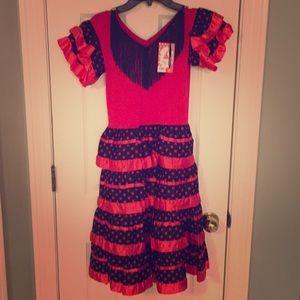 NWT Flamingo dress  from Spain!!